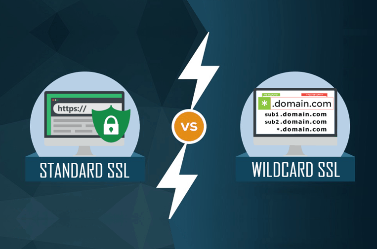 wildcard vs standard ssl