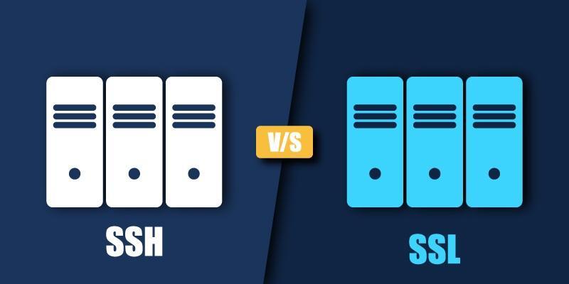 ssh vs. ssl